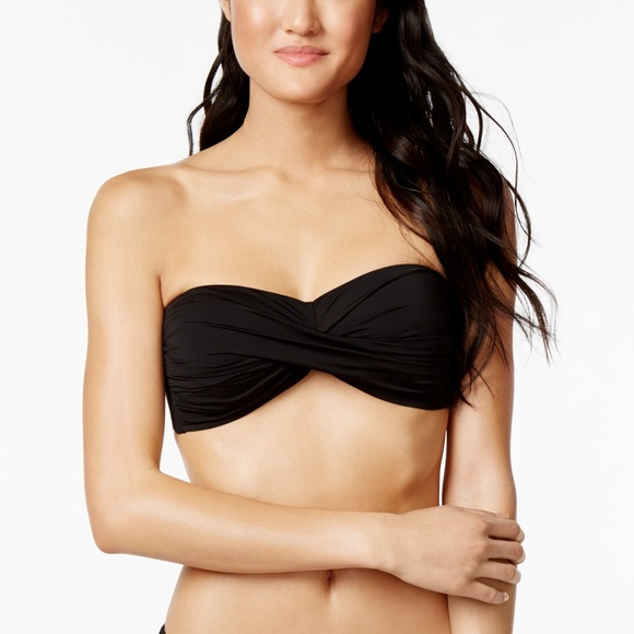 Bar III Other - Bar III Twist Bandeau Bikini Swimsuit Top XL
